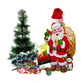 Creativity Creations Nylon Christmas Tree Multicolour- 2 Ft- (pack Of 1)
