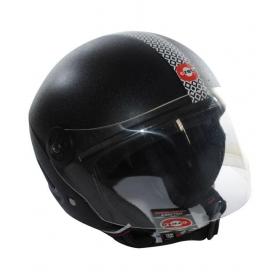 Creta Half Face Helmet Isi Marked (black) Clear Voyager