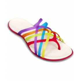 Multi Color Flat Slip-on & Sandal Relaxed Fit