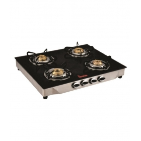 Crystal Vartika 4 Burner Manual Gas Stove