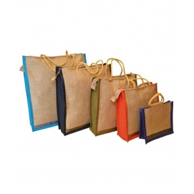 Multi Color Grocery Bag Set Of 5