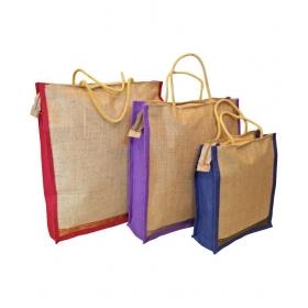 Jute Beige Grocery Bag