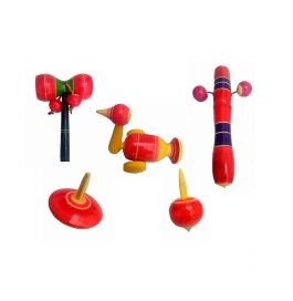 Toddler Toy Combo Red
