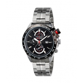 Curren Silver Pointers Silver Steel Watch With Date For Men