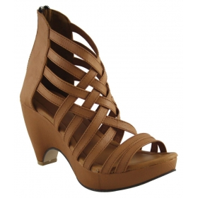 Fashion Brown Heels