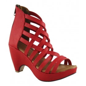 Red Cone Heels