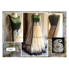 Designer Beautiful Wear Gown By Sas Creations