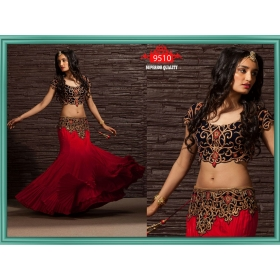 Sas Creations Best Net Red Lehenga