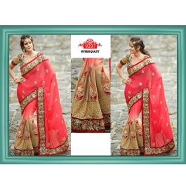 Sas Creations Superb Dhupian Pink Saree