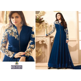 Blue Designer Beautiful Gown