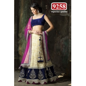 A Designer Beautiful Partywear Lehenga