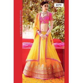 The Latest Designer Wear Lehenga With Blouse By Sas Creations
