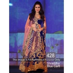 A Beautiful Designer Ethnic Wear Lehenga By Sas Creations
