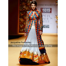Bollywood Beautiful Samititched Designer Gown By Sas Creations