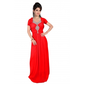 Kala Boutique Creation Gown Red
