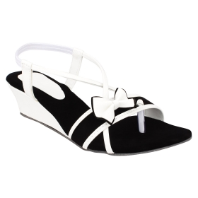 Sarva Womans Wedges White