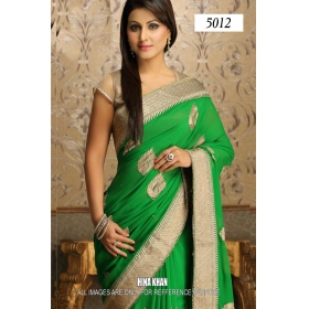 Sas Creation Green Designer Saree