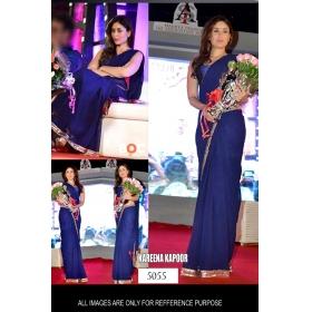 Sas Creation Ethnic Blue Designer Saree