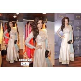 Sas Creation Replica Jaquard Satin Beautiful Dress