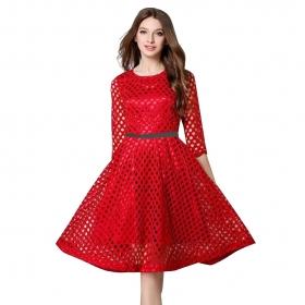 Exclusive Designer Red Dress