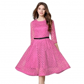 Exclusive Bollywood Pink Dress