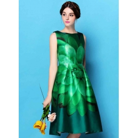 Exclusive Bollywood Green Dress