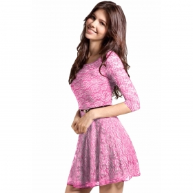 Exclusive Designer Pink Dress