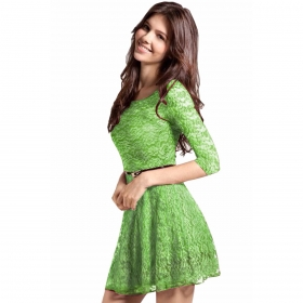 Designer Greendress