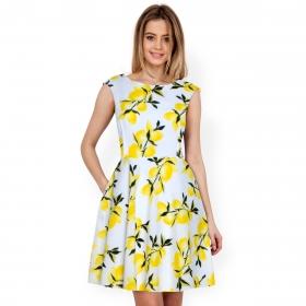 Exclusive Designer Yellow Western Dress