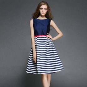 Exclusive Designer Blue Western Dress