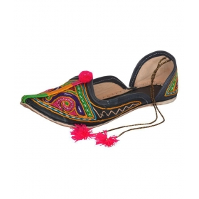 Multi Color Ethnic Footwear