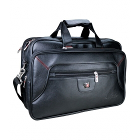 Black P.u. Office Bag