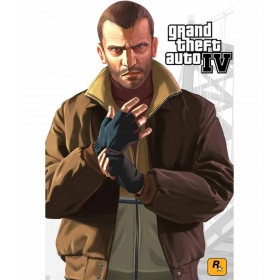 Grand Theft Auto 4 12x19 Inch Poster
