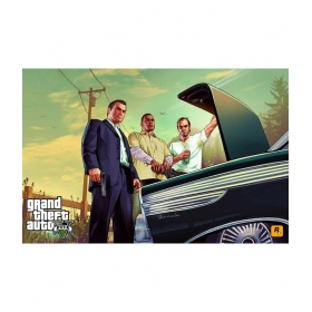 Gta Grand Theft Auto V-b Poster -30x47 Cm