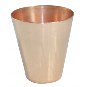 Copper Coated Shot Glass