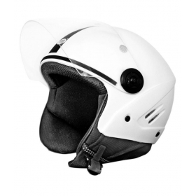 Dass Getz White Isi Mark - Open Face Helmet White L