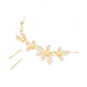 Golden Designer Hair Clip