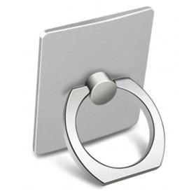 Universal 360 Rotating Silver Metal Ring Mobile Holder