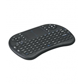 I8 Mini Wireless Keyboard And Mouse(touchpad) Black Bluetooth Keyboard Mouse Combo With Smart Functioncompatible
