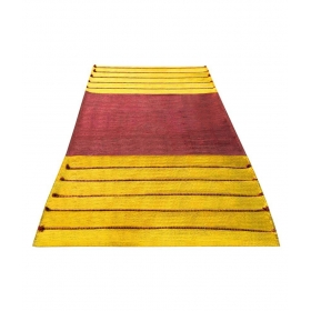 Square With Soil Herbal, Turmeric, Red Sandalwood And Neem Organic Yoga Mat