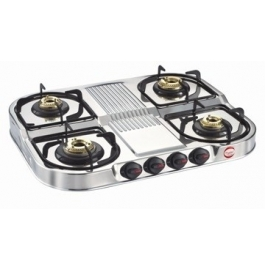 Prestige Gas Table - Royal - 4 Burner