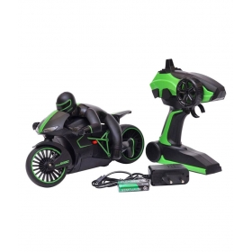 Dhawani Latest High Speed 2.4 Ghz Rc Motorcycle Bike With Built In Gyroscope & Bright Led Headlights (black)