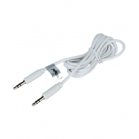Aux Cable 3.5 To 3.5 Stereo Audio Cable - White