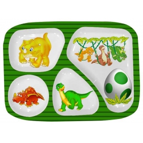 Dino Partition Plate