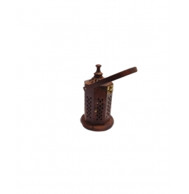 Desi Karigar Letter Box Shaped Lobandaan (dhoop Stand) With Handle