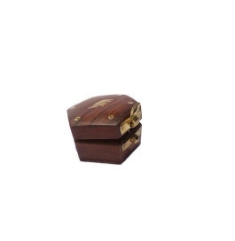 Desi Karigar Small Hexagonal Trinket Jewellery Box