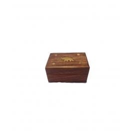 Desi Karigar Small Trinket Jewellery Box With Beautifull Brass Work