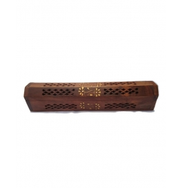 Desi Karigar Wooden Sheesham Agarbatti Incense Stick Dhoop Batti Box/case/stand/holder
