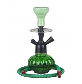 Green Hookah 12 Inch