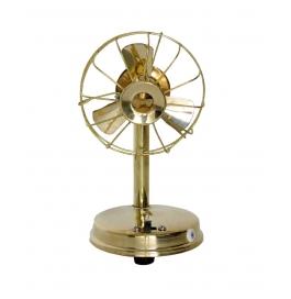 Desi Karigar Brass Toy Fan Showpiece Portable Rechargable
